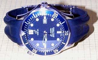 Omega Seamaster Leather Band